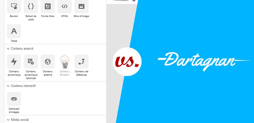 Email Builder : Content Builder vs. Dartagnan